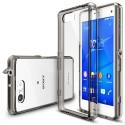 Чехол Ringke Fusion для Sony Xperia Z3 Compact (Smoke Black)