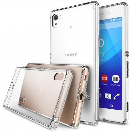 Чехол Ringke Fusion для Sony Xperia Z3+ (Crystal View)