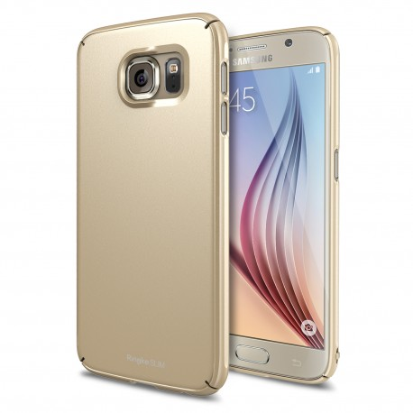 Чехол Ringke Slim для Samsung Galaxy S6 Edge (Royal Gold)