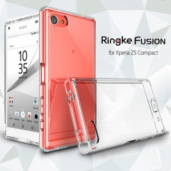 Чехол Ringke Fusion для Sony Xperia Z5 Compact (Crystal View)