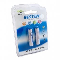 Аккумулятор Beston AAA 1100 mAh Ni-MH, 2шт
