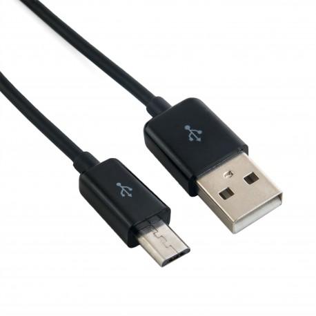 Кабель Extradigital USB 2.0 AM – micro USB type B, 1.5m, 28 AWG, Long connector, ABS, Hi-Speed