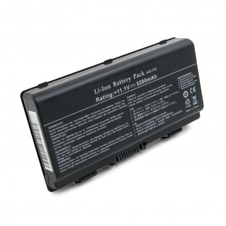 Аккумулятор ExtraDigital для ноутбуков Asus X51 (A32-T12) 11.1V 5200mAh