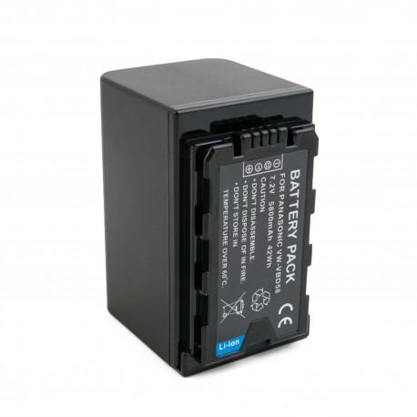 Аккумулятор ExtraDigital для Panasonic VW-VBD58, Li-ion, 7.2V, 5800mAh