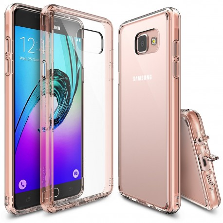 Чехол Ringke Fusion для Samsung Galaxy A7 (2016) (Rose Gold)