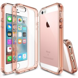 Чехол Ringke Fusion для iPhone SE/5S/5 (Rose Gold)