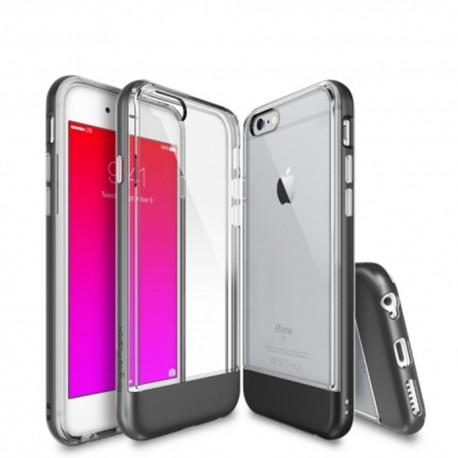 Чехол Ringke Fusion Frame для iPhone 6/6S (Metal Grey)