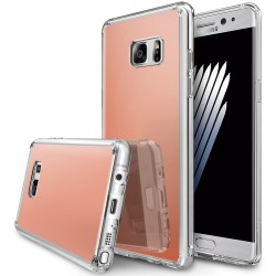 Чехол Ringke Fusion Mirror для Samsung Galaxy Note 7 N930F Rose Gold (151772)