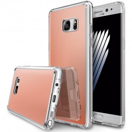 Чехол Ringke Fusion Mirror для Samsung Galaxy Note 7 N930F Rose Gold (151772)