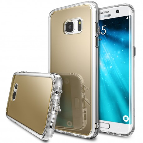 Чехол Ringke Fusion Mirror для Samsung Galaxy S7 Edge Royal Gold (825274)