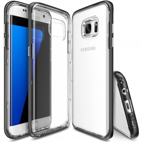Чехол Ringke Fusion Frame для Samsung Galaxy S7 Edge SF Black (827315)