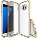 Чехол Ringke Fusion Frame для Samsung Galaxy S7 Edge Royal Gold Clip (827377)