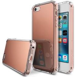 Чехол Ringke Fusion Mirror для iPhone SE/5S/5 Rose Gold (824543)