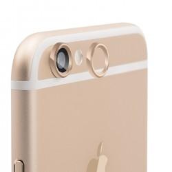 Защита JCPAL на камеру и кнопку Touch ID для iPhone 6/6S (Gold)