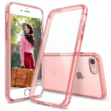 Чехол Ringke Fusion для Apple iPhone 7 (Rose Gold)
