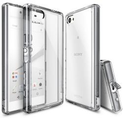 Чехол Ringke Fusion для Sony Xperia Z5 Compact (Smoke Black)