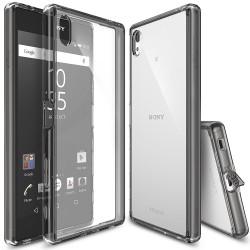 Чехол Ringke Fusion для Sony Xperia Z5 Premium (Smoke Black)