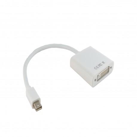 Адаптер Extradigital для Apple Mini DisplayPort to DVI, 0.15m, 30 AWG, Gold, PVC