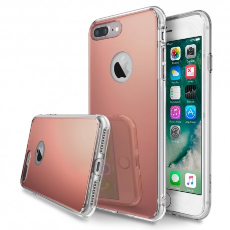 Чехол Ringke Fusion Mirror для Apple iPhone 7 Plus (Rose Gold)