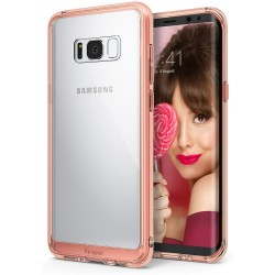 Чехол Ringke Fusion для Samsung Galaxy S8 Rose Gold (RCS4313)