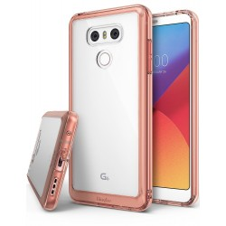 Чехол Ringke Fusion для LG G6 Rose Gold (RCL4316)